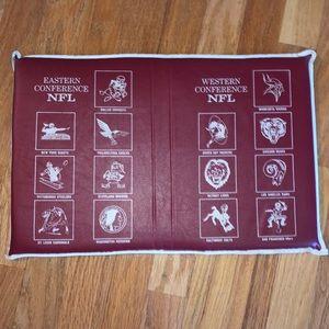 Vintage NFL Stadium Cushion